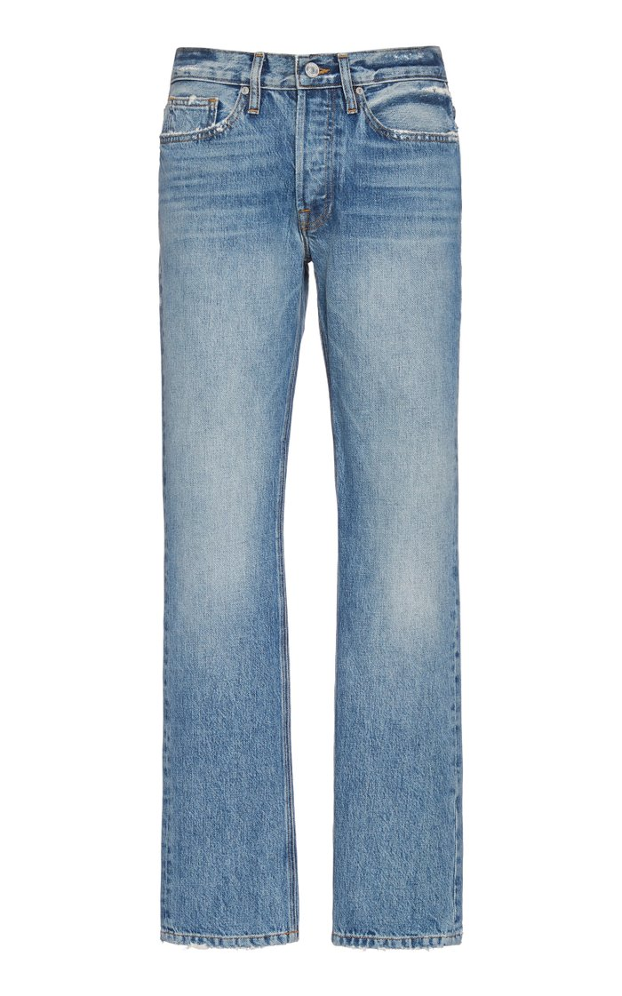 L'homme Rigid Mid-Rise Straight-Leg Jeans