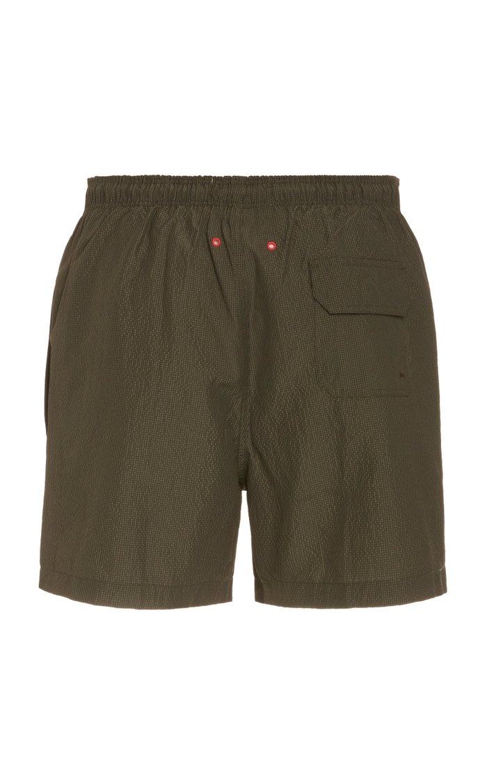 The Classic Seersucker Swim Shorts