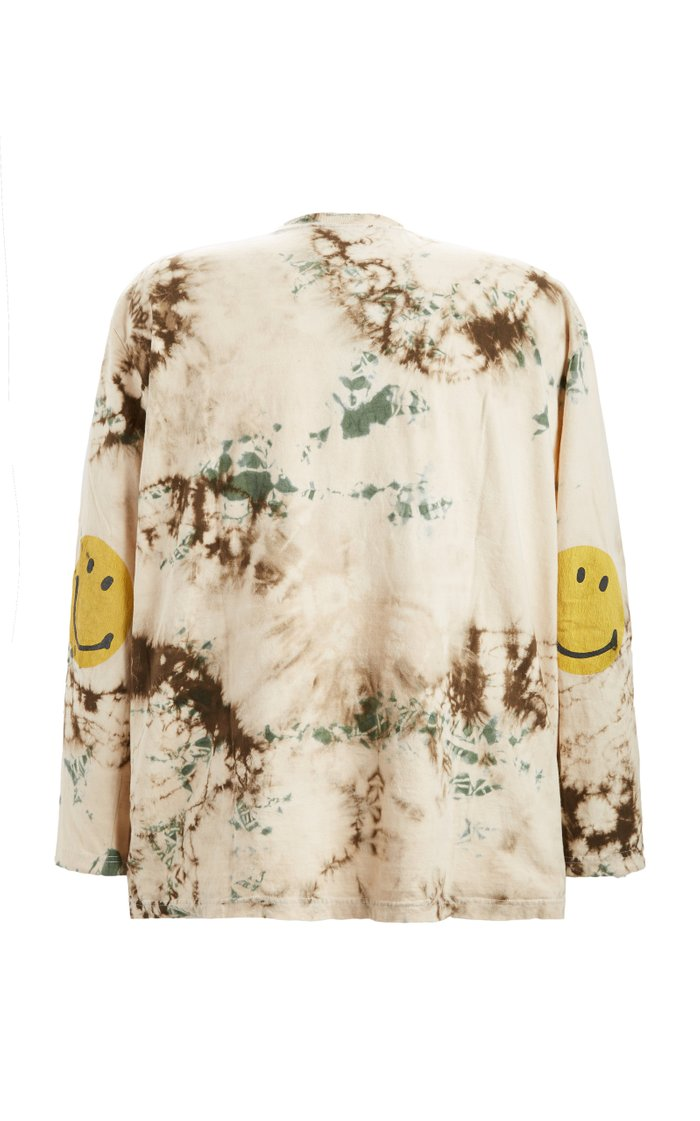 Jersey Smilie Tie-Dyed Cotton Top