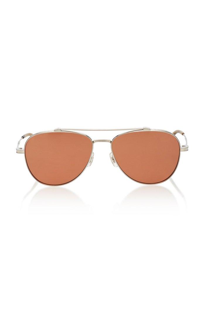 Rikson Aviator Metal Sunglasses