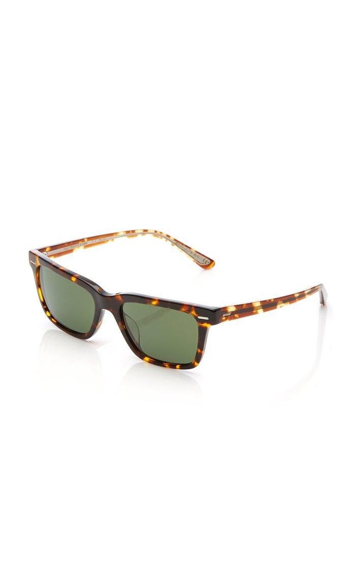 Tortoise BA Square Sunglasses