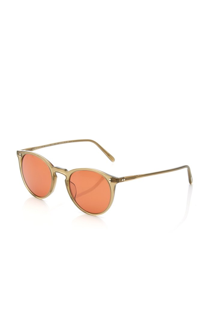 Brook Tree Oversized Acetate Sunglasses