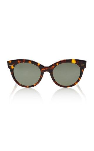 Georgica Polarized Oversized Cat-Eye Sunglasses