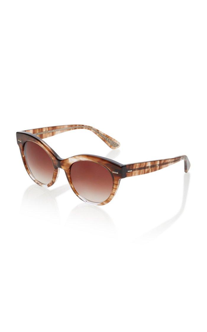Georgica Oversized Cat-Eye Sunglasses