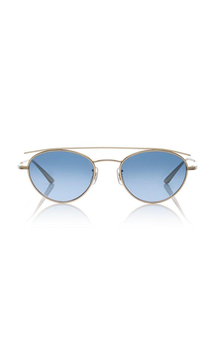 Hightree Titanium Aviator Sunglasses