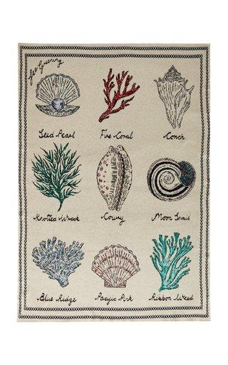 Sea Shell Cashmere Throw