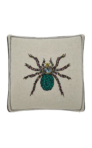 Spider Cashmere Pillow