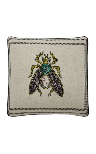Bee Cashmere Pillow