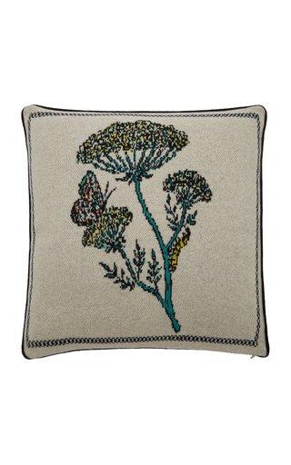 Botanical Cashmere Pillow