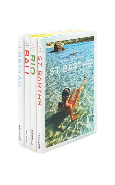 In The Spirit Of Rio, Bali, St. Barths And Gstaad Hardcover Book Set