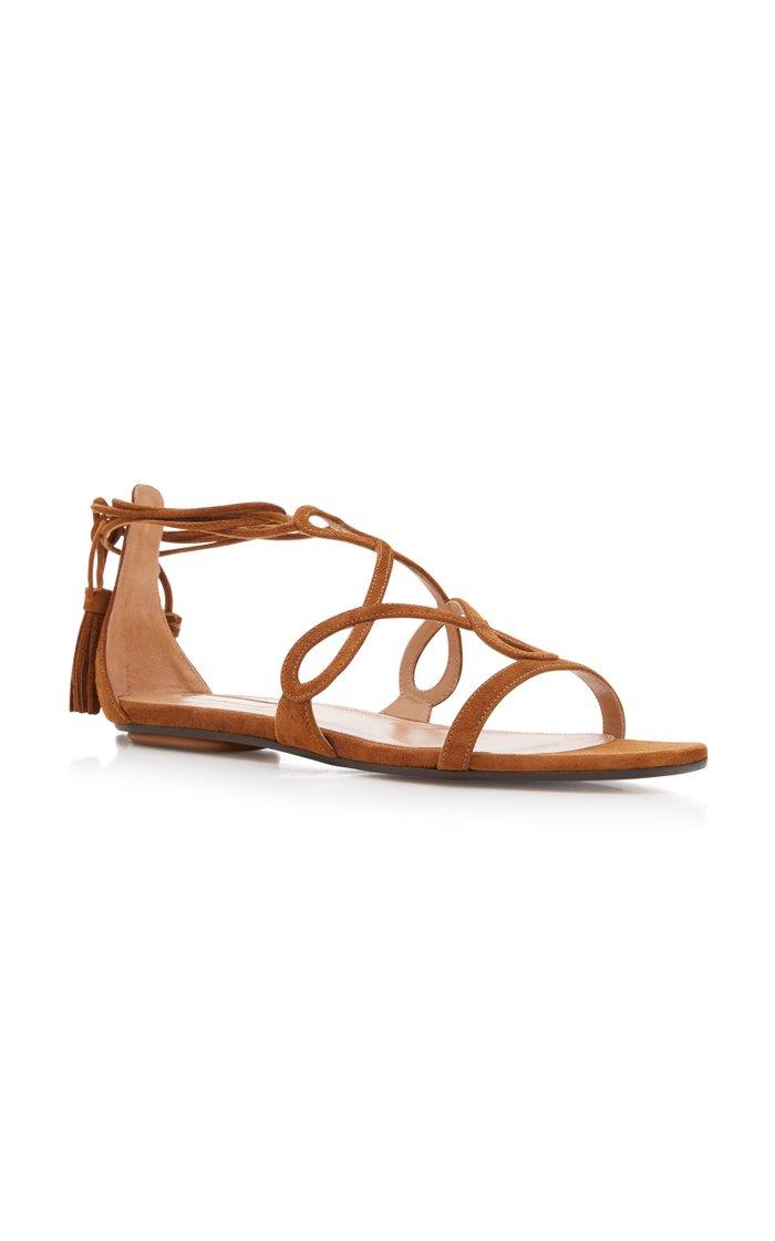 Gitana Suede Sandals