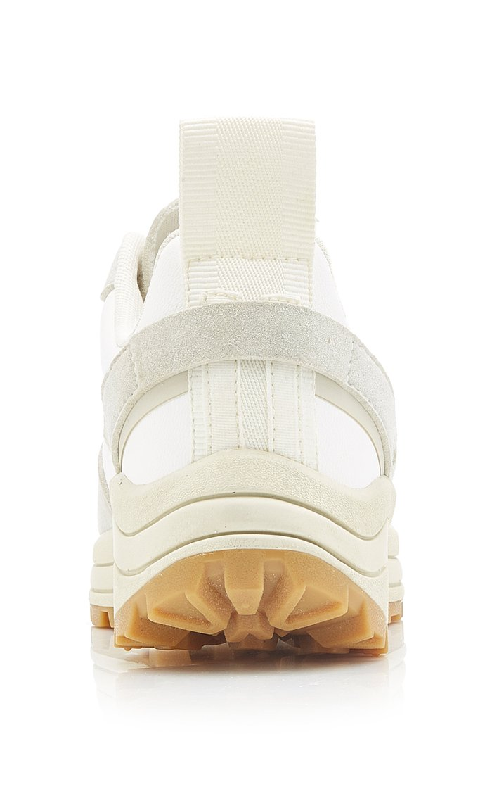 Chunky Vegan Suede Sneakers