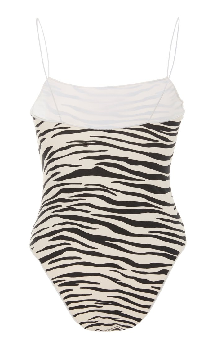 The C Animal Print One-Piece Swimsuit