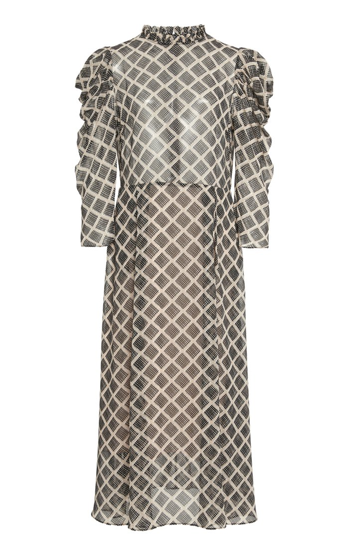 Carla Printed Puff Sleeve Dress