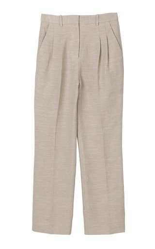Louisamay Double Face Linen Pants