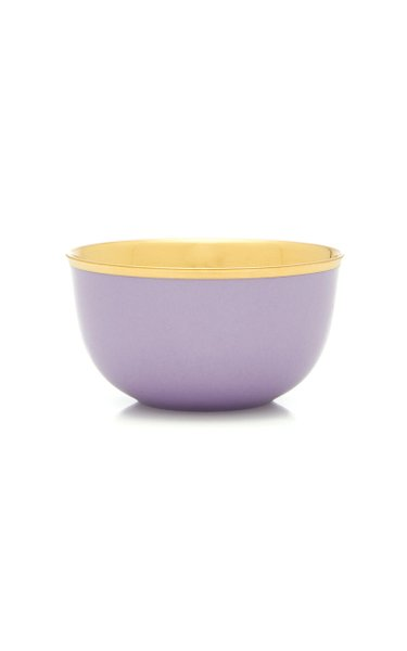 Lilac Champagne bowl