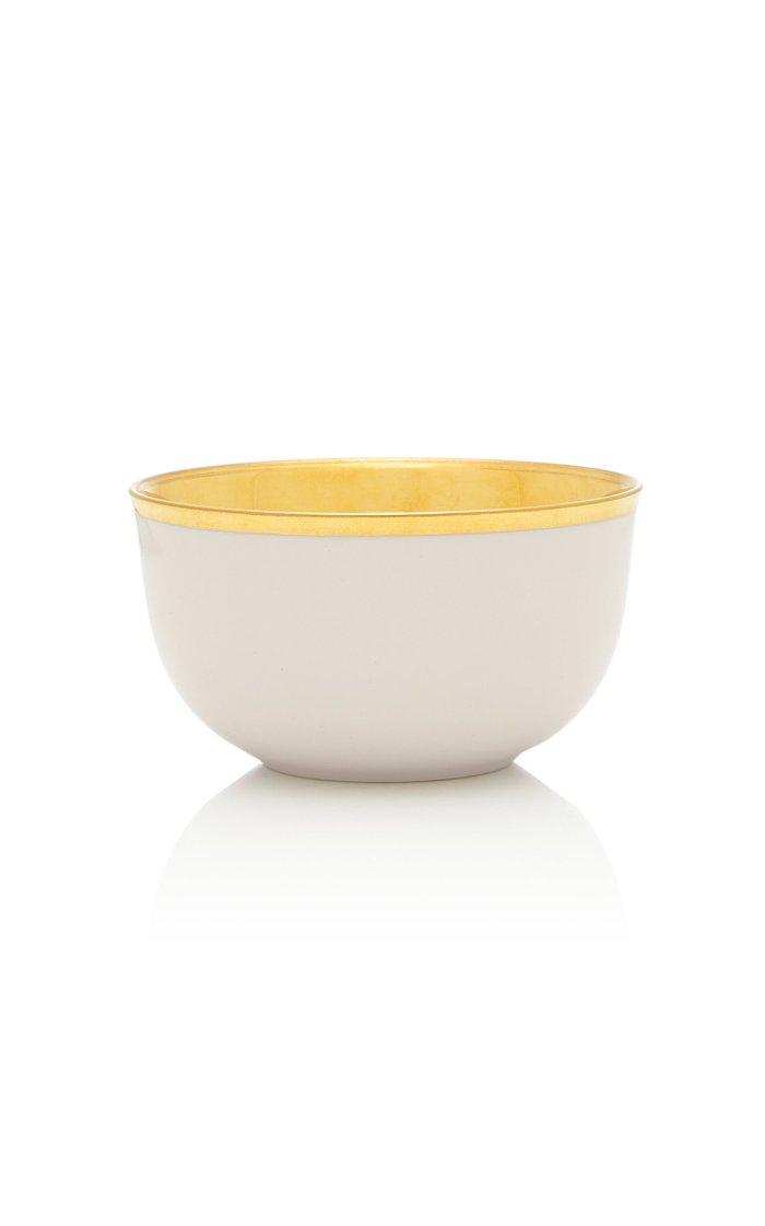 Pale Pink Champagne bowl