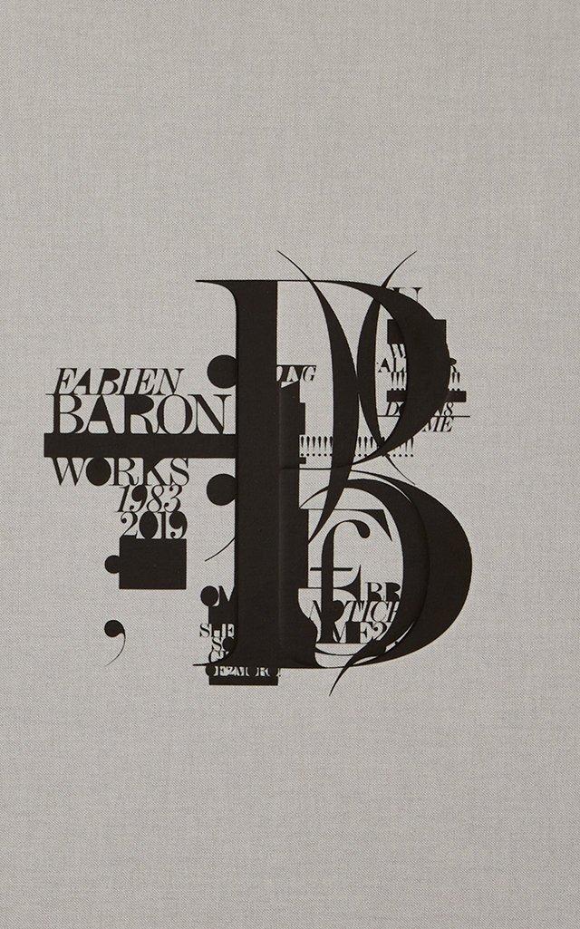 Fabien Baron: Works 1983-2019 Hardcover Book