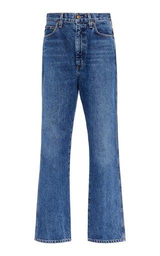 Pinch High-Rise Straight-Leg Jeans