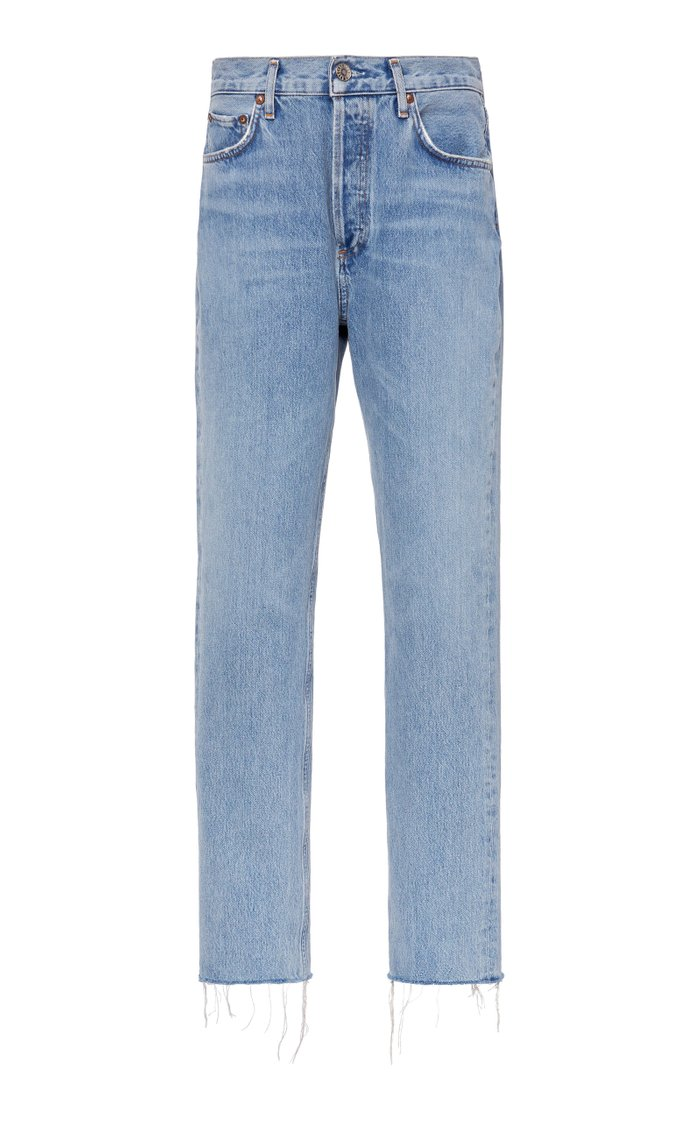 Remy High-Rise Straight-Leg Jeans