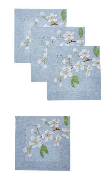 Set Of 4 Izumi Ice Blue  Coaster