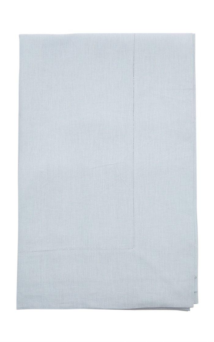 Plain Ice Blue Tablecloth