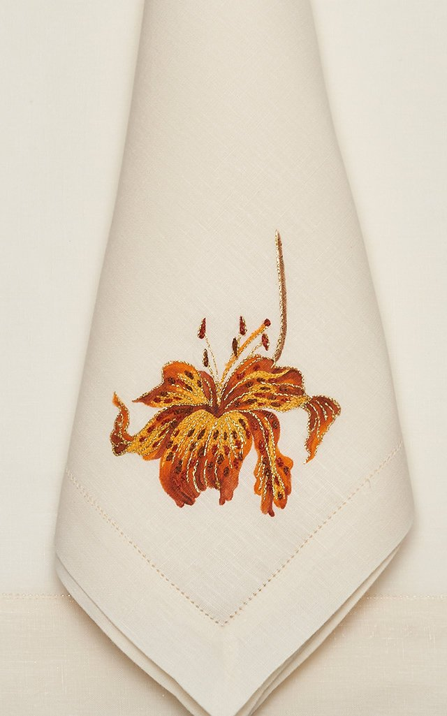 Orchid Savage  Placemat And Napkin Set
