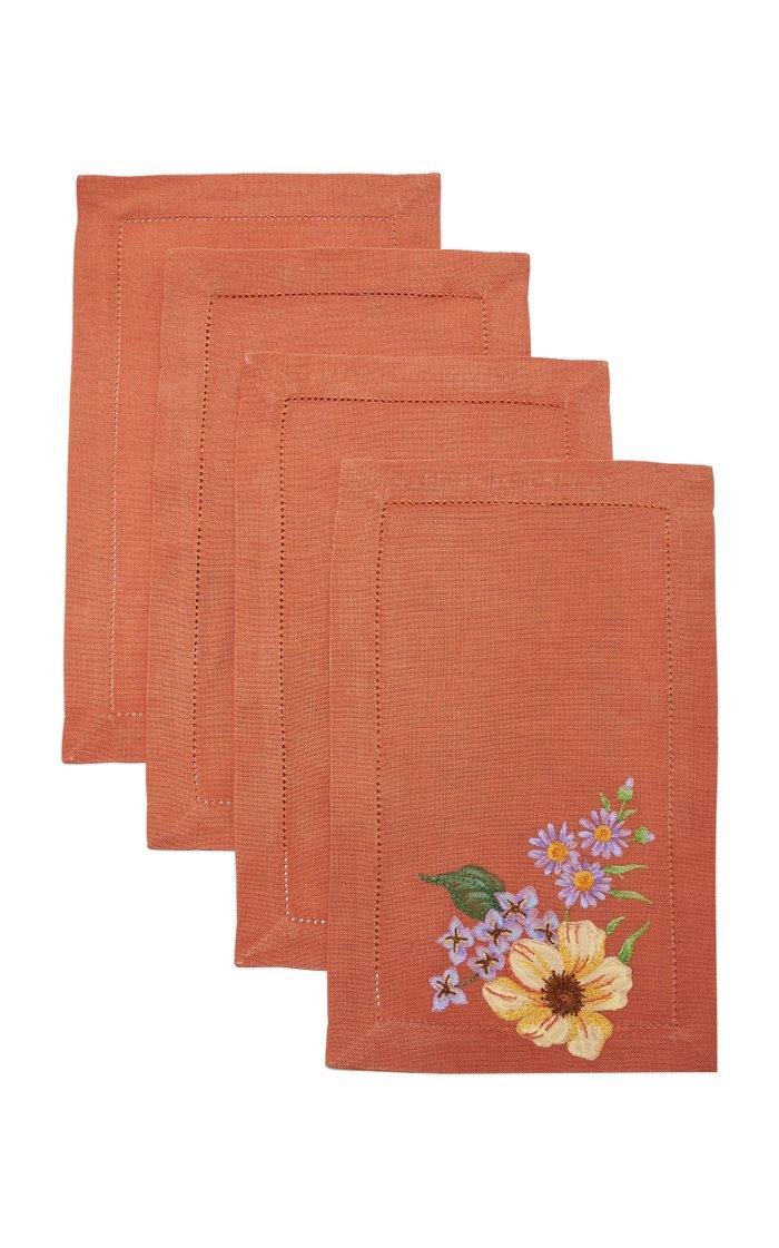 Set Of 4 Blossom O   Cocktail