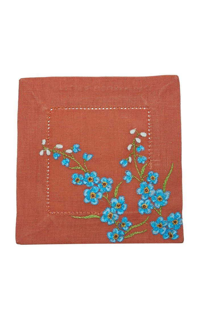 Set Of 4 Blossom O   Coaster