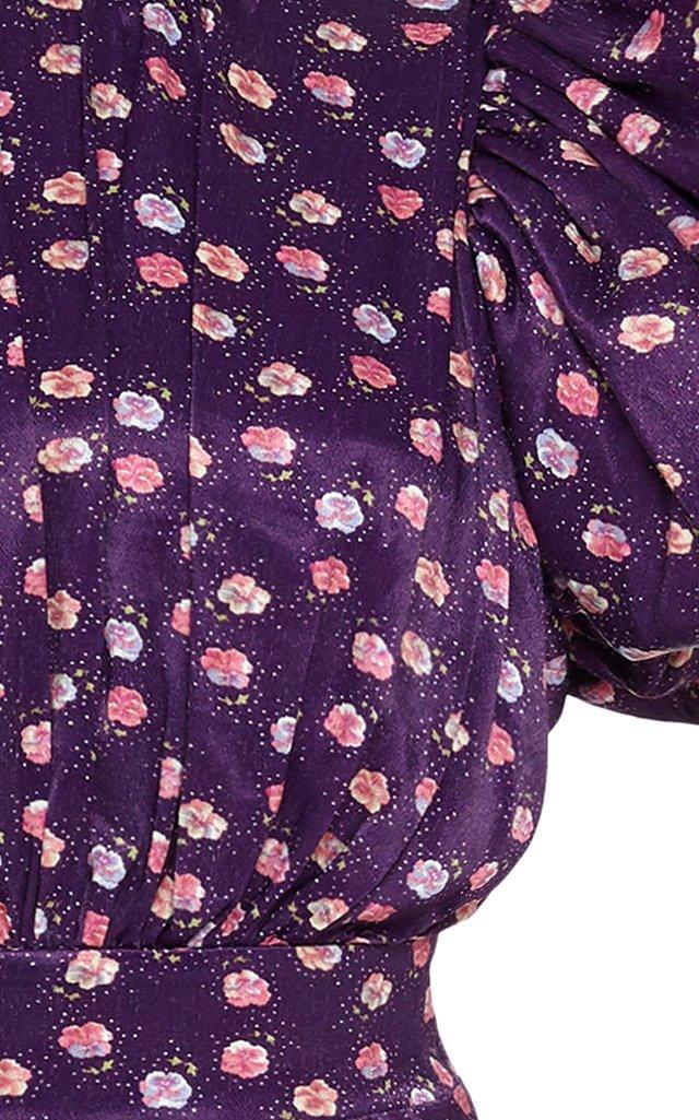 Dawn Satin Midi Dress