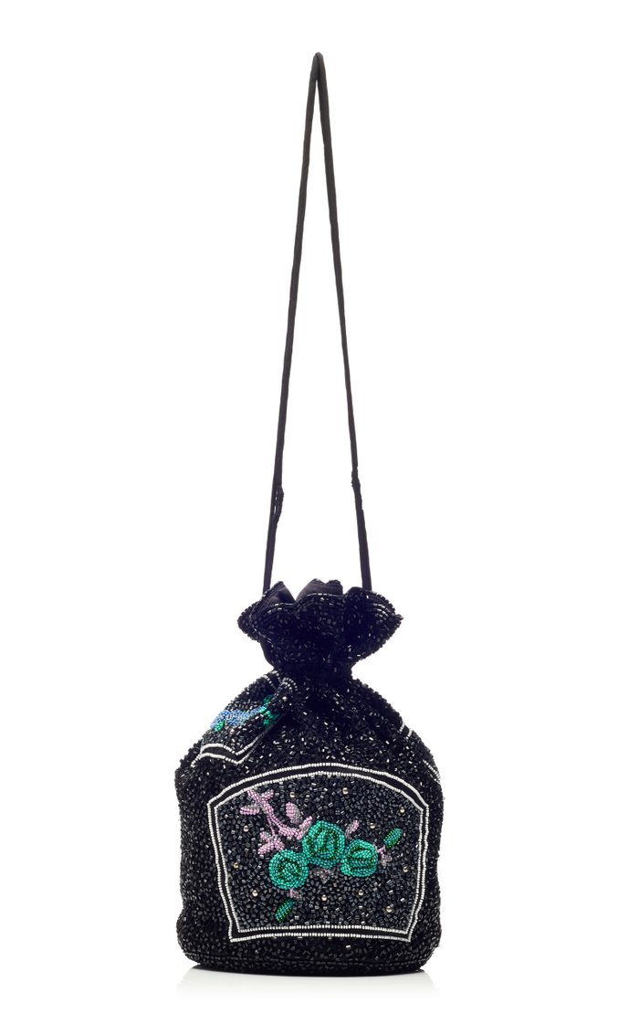 Hand Beaded Pouch