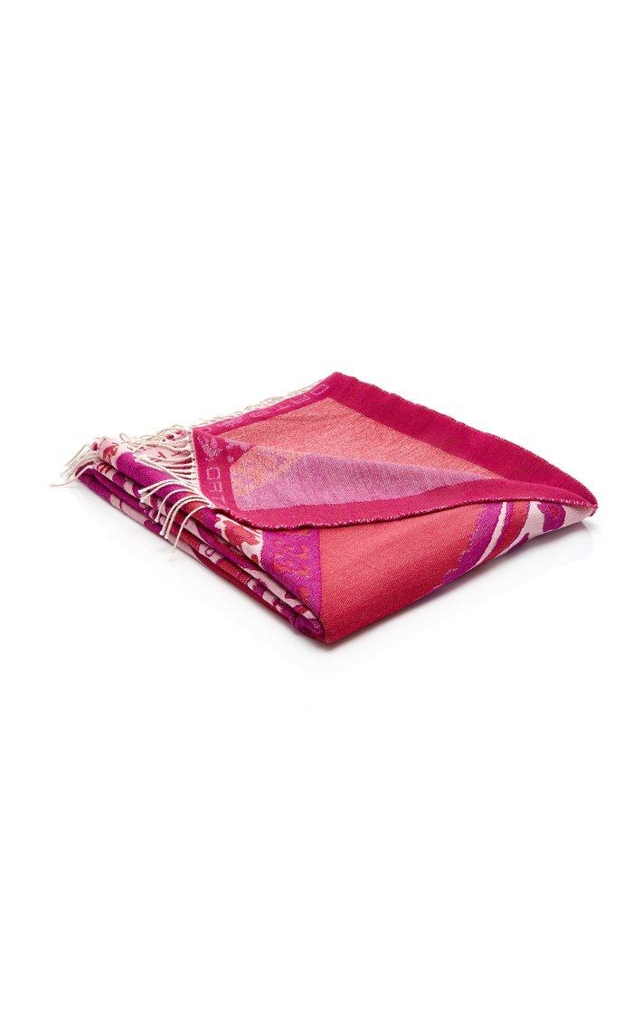 Meseta Wool Throw Blanket