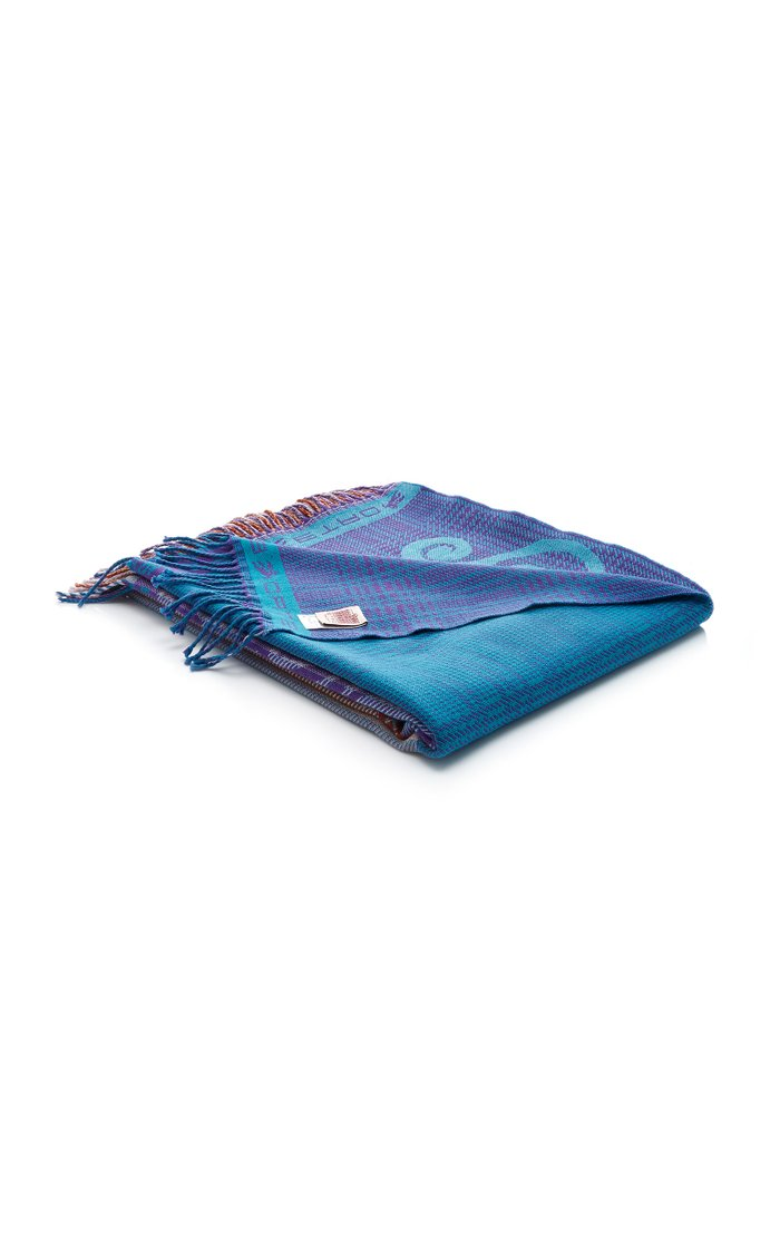 St.Christophe Wool Throw Blanket