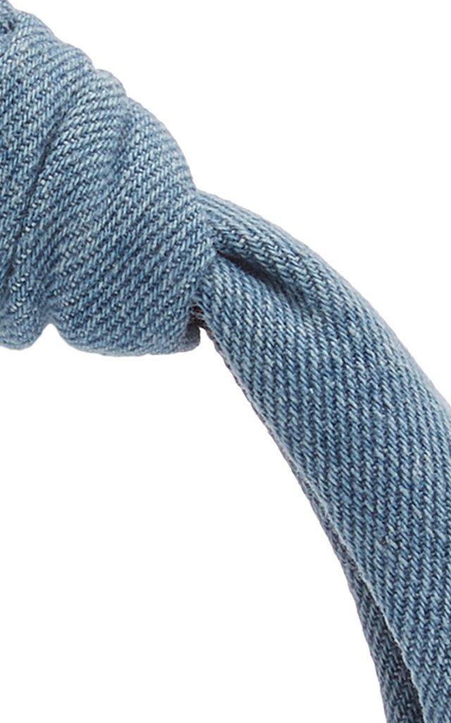 Knotted Denim Headband