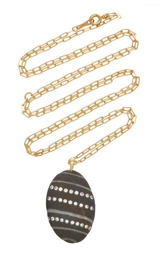 Aline 18K Gold, Diamond And Stone Necklace