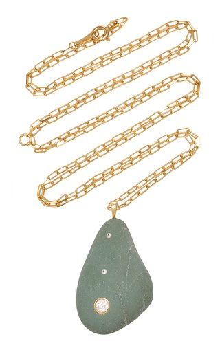 Bohemia 18K Gold, Diamond And Stone Necklace