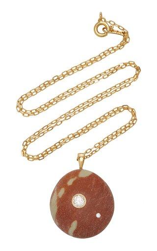Rosalina 18K Gold, Diamond And Stone Necklace
