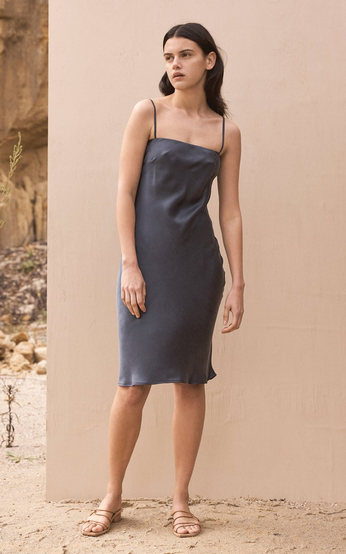 Belle Silk Dress