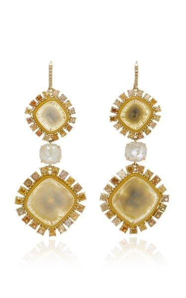 Phoenix Yellow Diamond Earrings