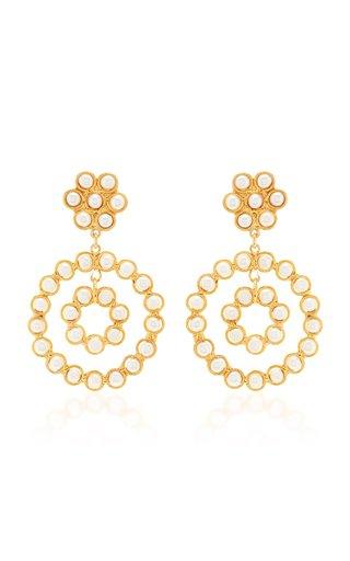 Flower Candies Pearl Earrings