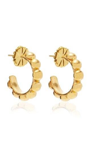 Mini Créole Gold-Plated Earrings