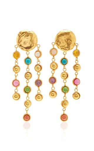 Rain Drops Multi-Stone Earrings