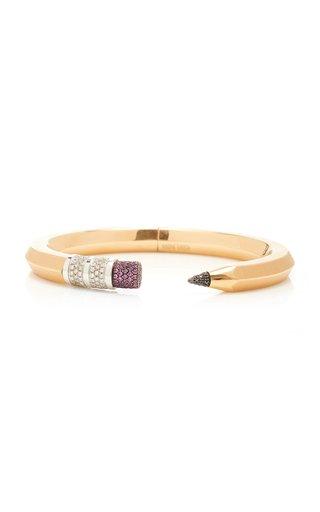 18K Rose Gold Pencil Bracelet