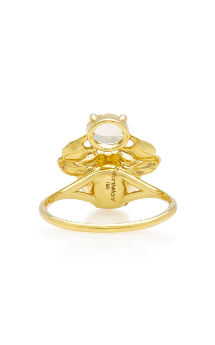 Cosquilleo 18K Gold Sapphire Ring