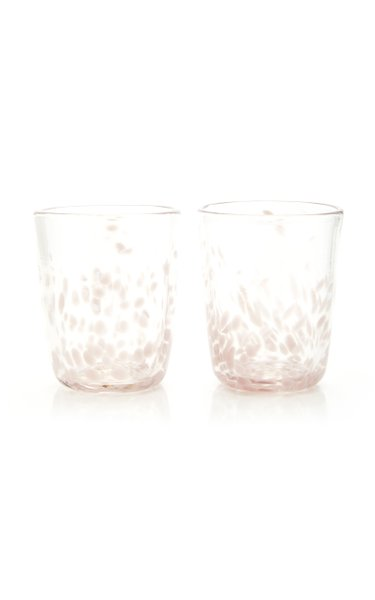 Set-Of-Two Glass Tumblers