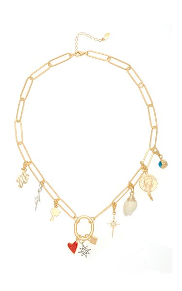 Charm Mania Gold-Plated Necklace