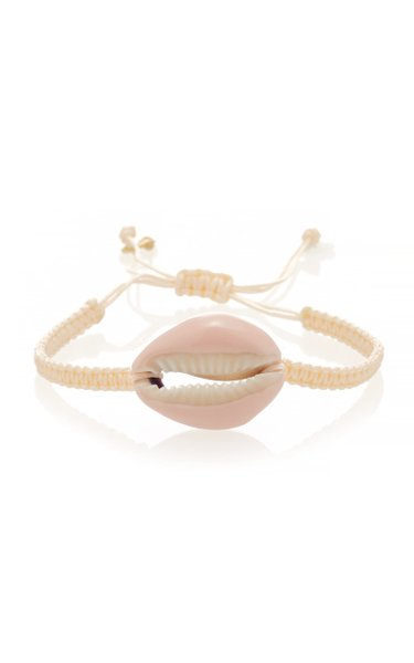 Shell And Macrame Bracelet