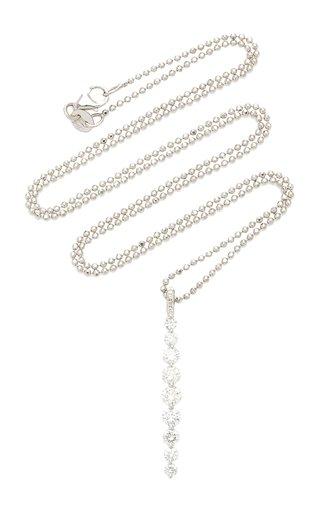 Twiggy Medium 18K Diamond Necklace