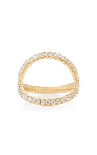 Arc 18K Gold Diamond Ring