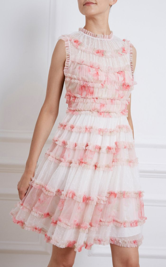 Memory Frilled Tulle Dress